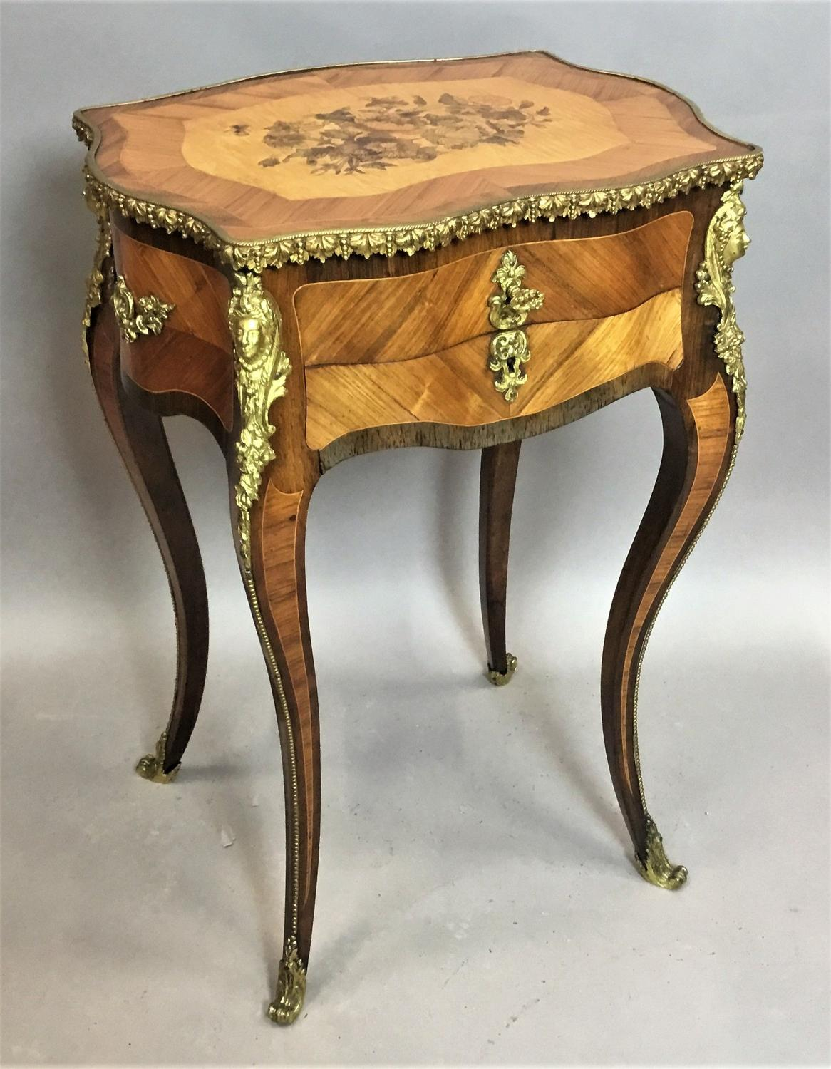 C19th French vanity table