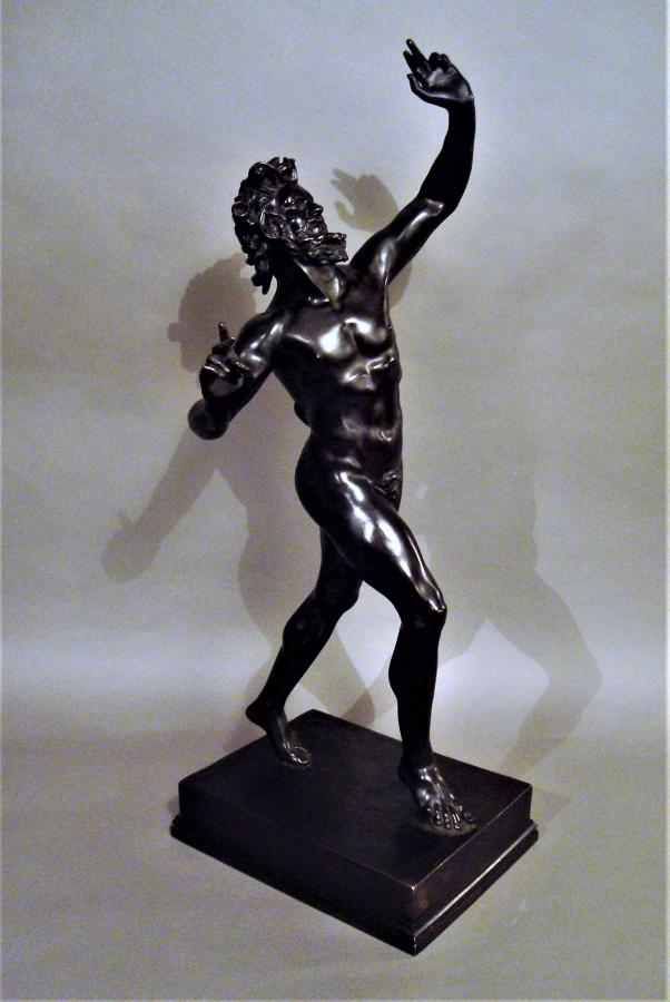 C19th large Grand Tour bronze sculpture