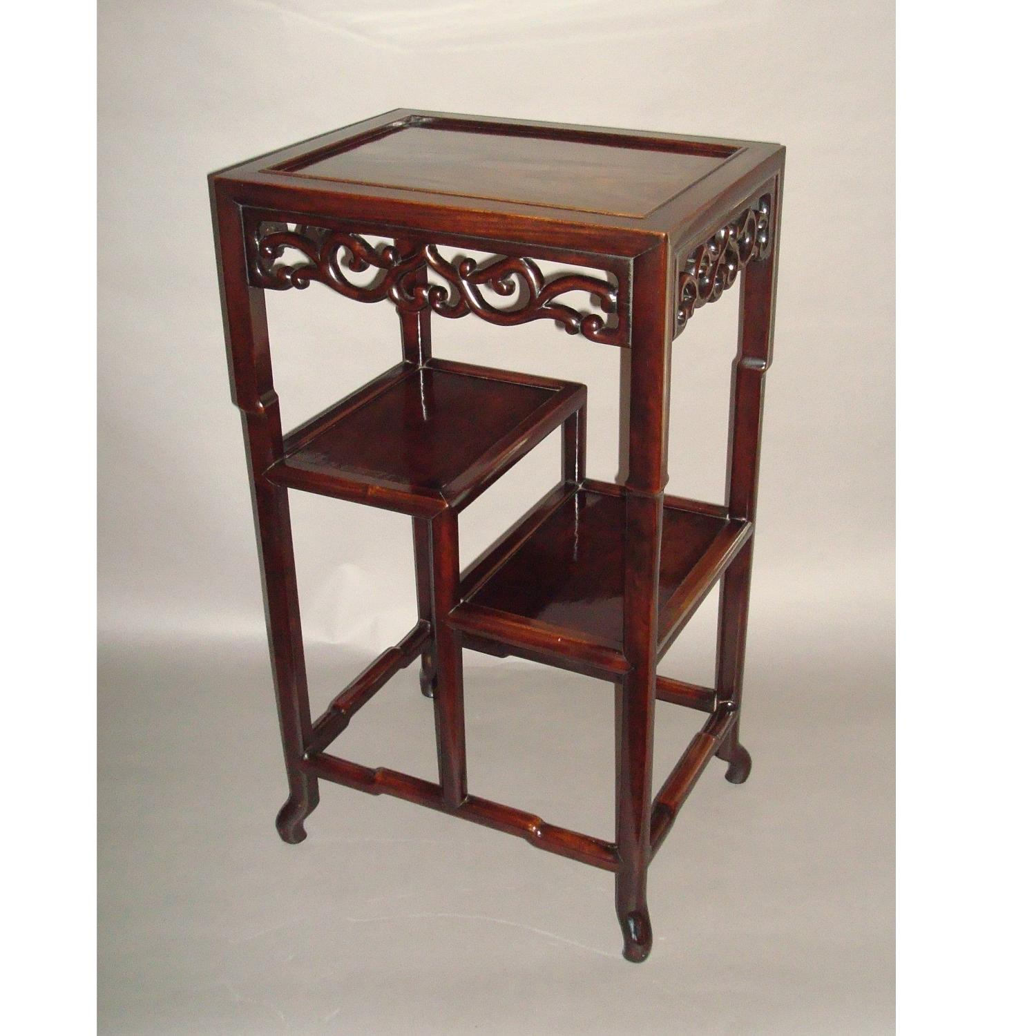 19th century Chinese Hongmu stand/table