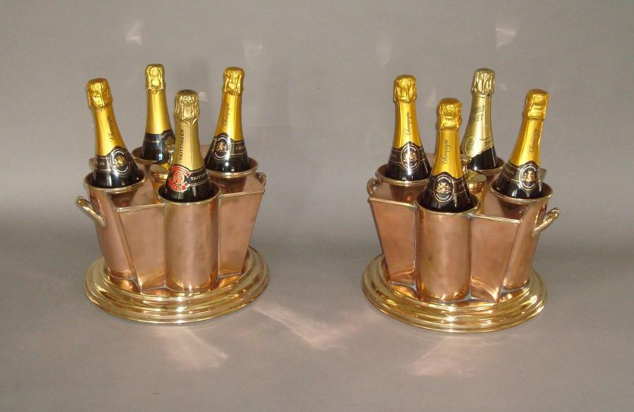 20th Century pair of 'White Star Line' Wine Coolers