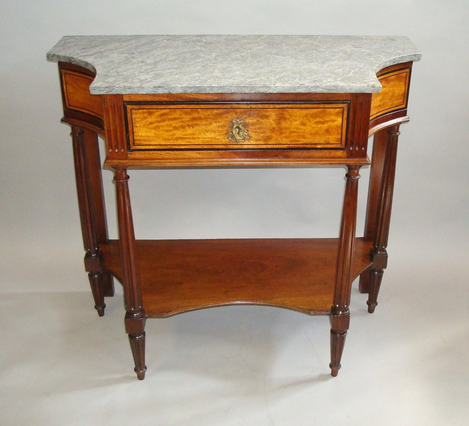 C19th console table