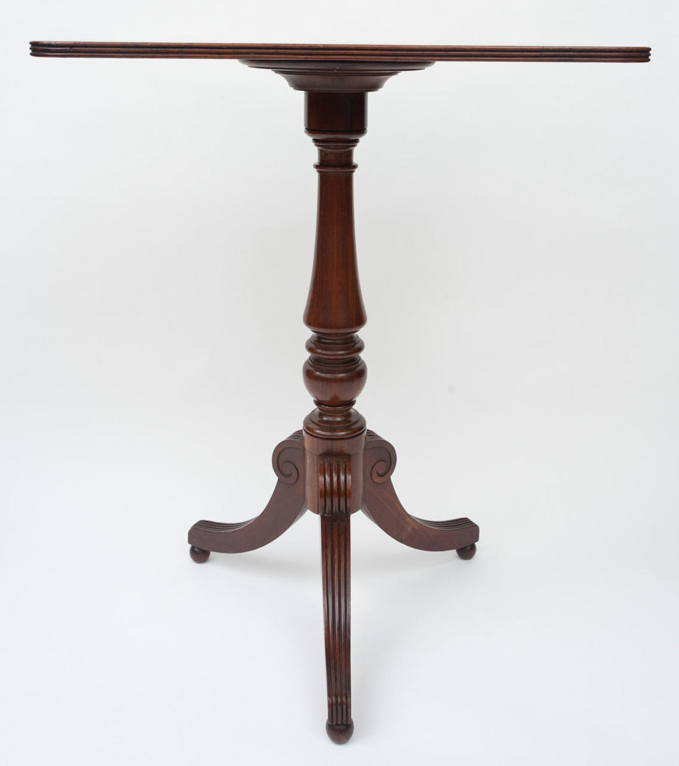 Regency Gillow mahogany occasional table