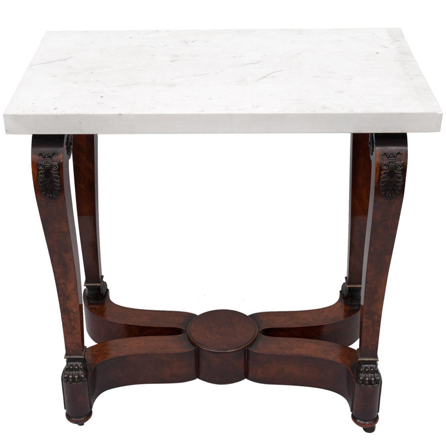 C19th french empire centre table