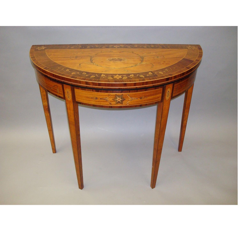 George III card table