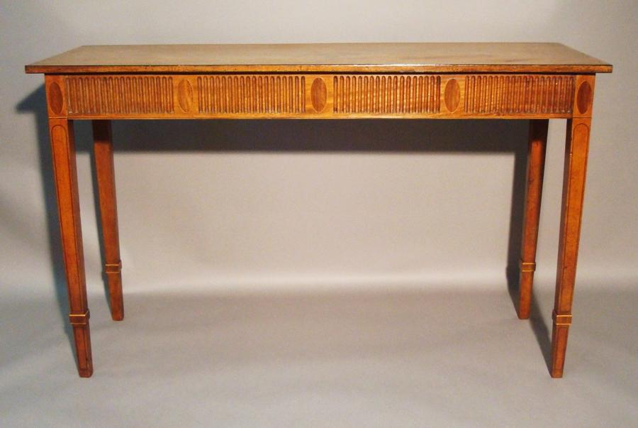 George III mahogany neo-classical console table
