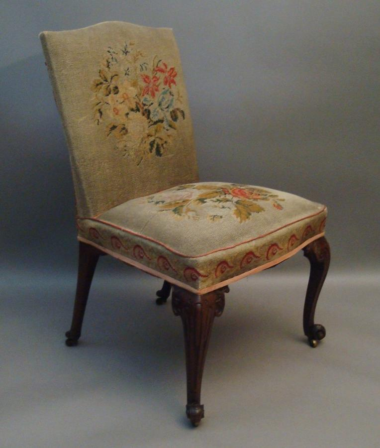George II side chair