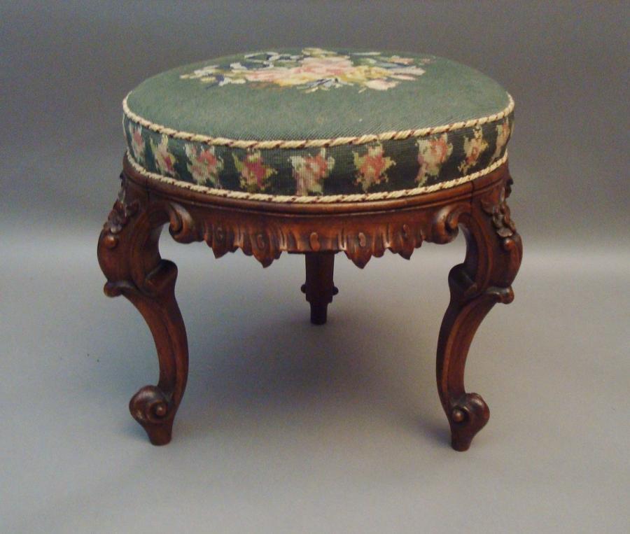 Victorian circular stool