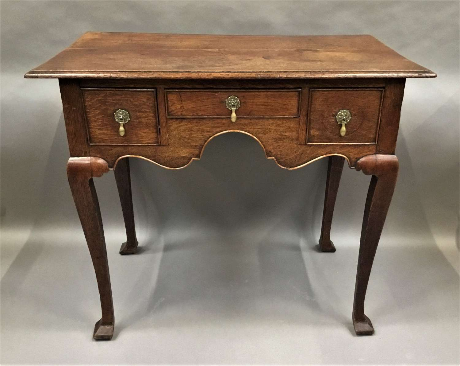 Georgian English oak lowboy