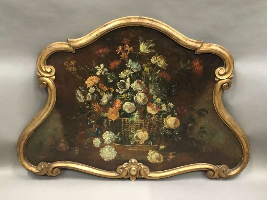 C18th Dutch still life oil painting