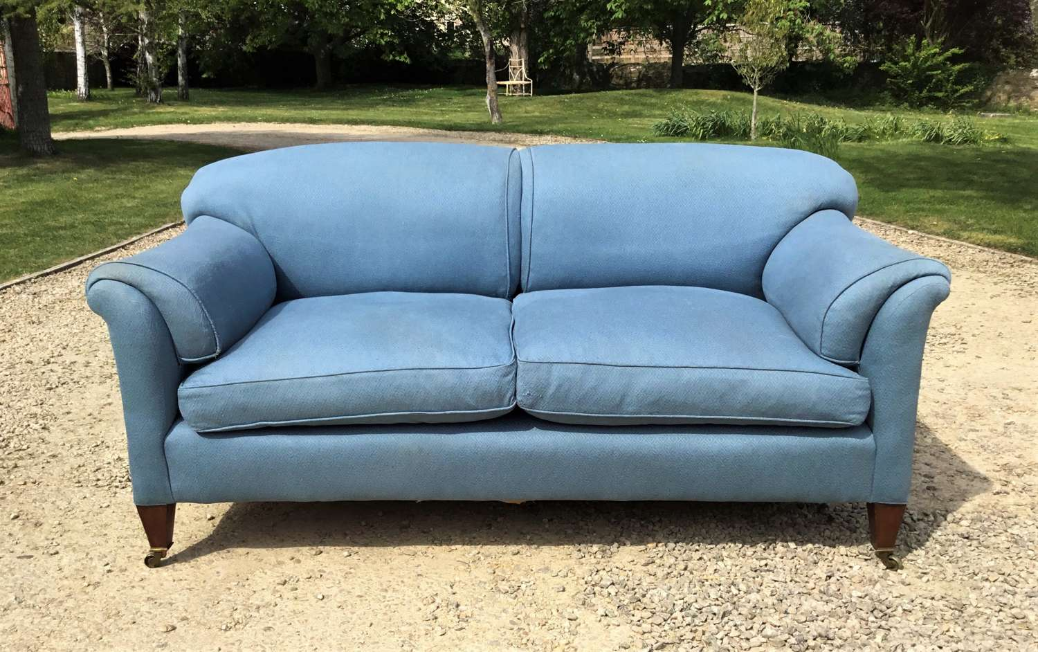 Late C19th Howard and Sons Sofa / Settee
