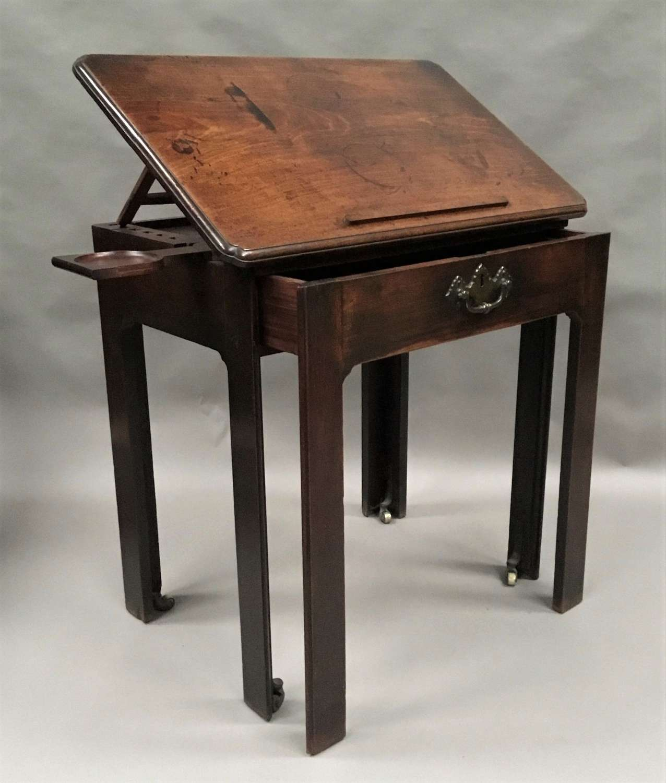 George II mahogany architects table