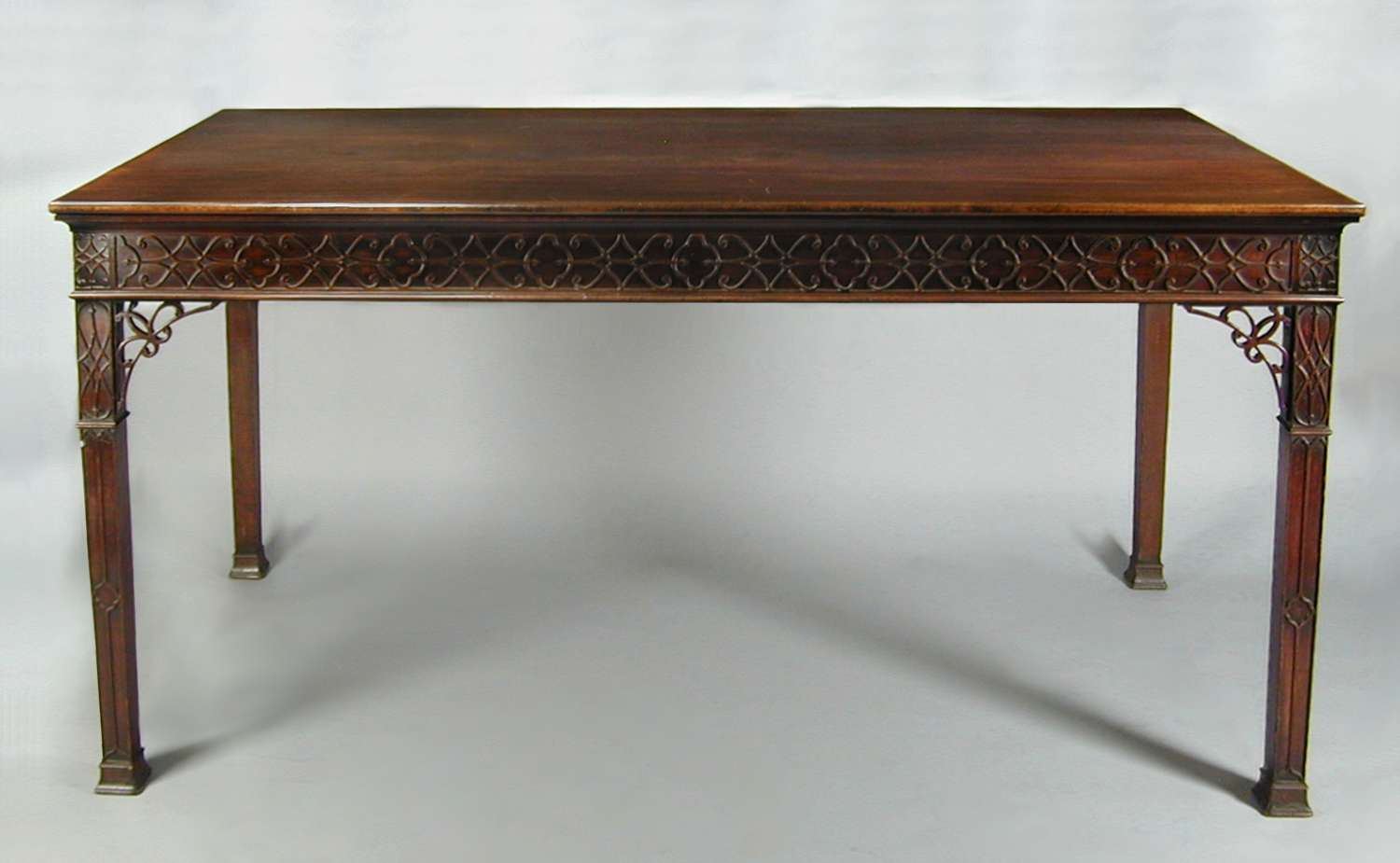 George III mahogany serving table / side table
